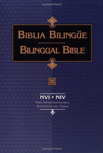 Descargar Libro NVI/NIV Biblia Bilingue Rustica de Vida Publishers