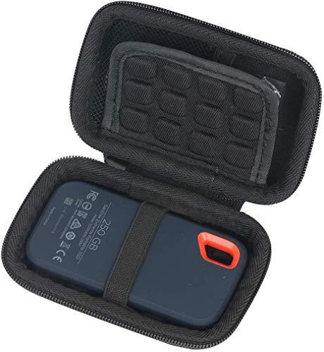 Khanka Eva Borsa da Viaggio Custodia Caso Scatola per SanDisk Extreme SSD Portatile 250 GB / 2 TB / 1 TB / 500 GB