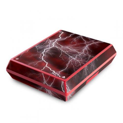 DecalGirl Nintendo Wii Mini Skin Designfolie Aufkleber Sticker - Apocalypse Red