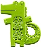 Fisher-Price Mattel DYF93 - Krokodil-Beißring, Rasseln/Beissringe