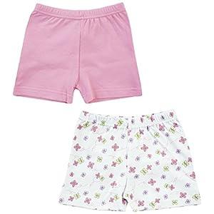 Jacky Kinder Pack 2Stück Mädchen Shorts Pack, Sortiert, Gr. 50/56-86/92
