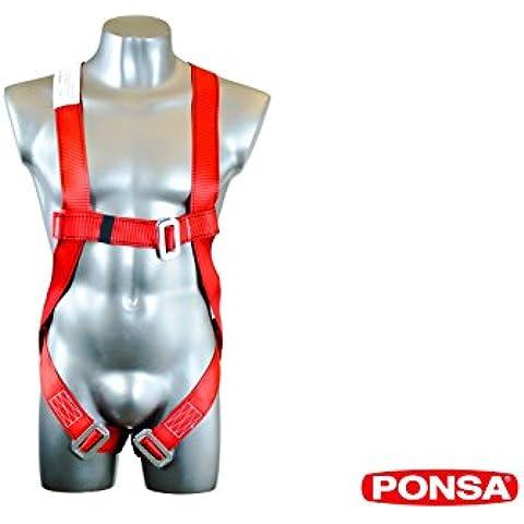 Imbracatura regolabile anti-chutes Basica (ancoraggio dorsale) per dei lavori in altezza. 031009001001