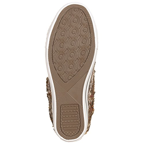 Sneakers con zeppa interna MACULATO MACULATO