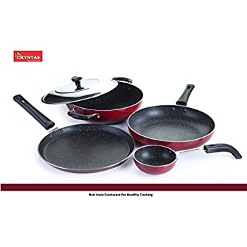eef739f3ed90 Buy Crystal Eco Plus Non-Stick Cookware Set