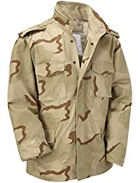 M65 Military Field Jacket With Removable Quilted Inner Liner - US Tri-Desert