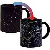 The Unemployed Philosophers Guild Heat Changing Constellation Mug - Add Coffee or Tea and 11 Constellations Appear - Comes in