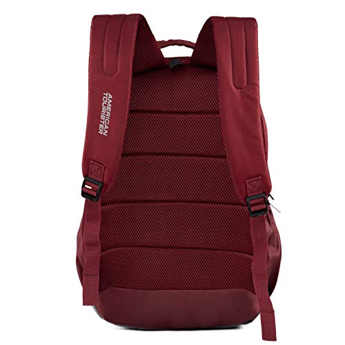 American Toruister Pop Nxt 03 Polyester Casual Backpack (Crimson) Image 3