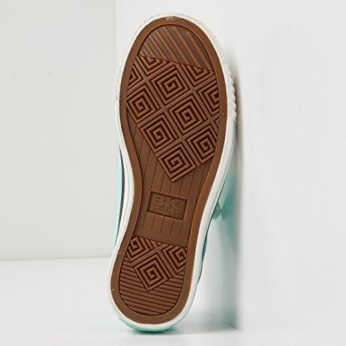 Mestre Menina Verde Sneaker Lo Cavaleiros Hortelã Halbschuh Britânicos aUqgxp8E