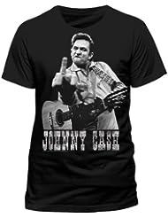 Johnny Cash T-Shirt Flippin in Größe M