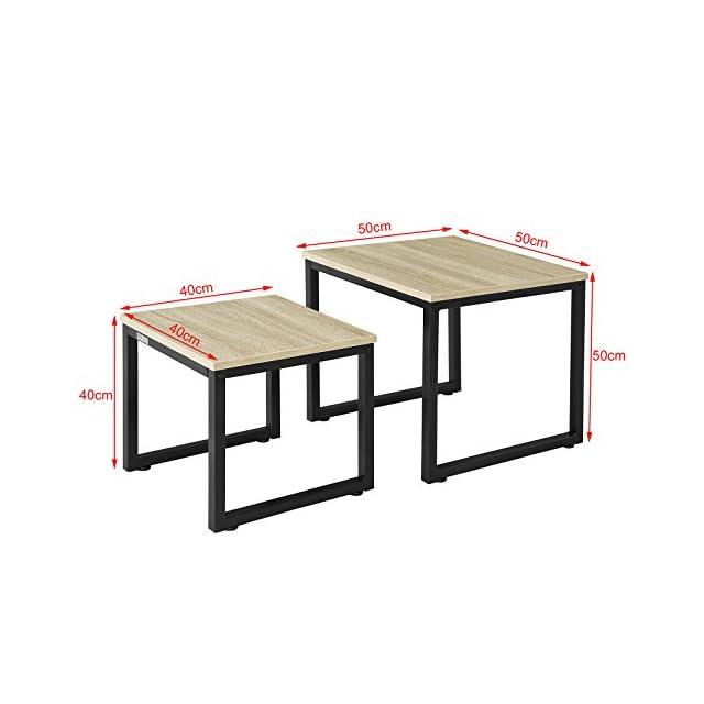 adbf715892b31f SoBuy OGT03 Ensemble table de bar + 2 chaises, Set de 1 Table + 2 ...