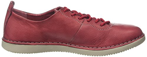Softinos Tory325sof, Baskets Basses Femme Rouge - Rouge écarlate