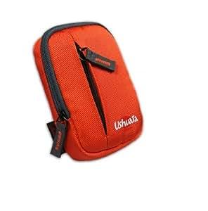 Port Designs Ushuaia P&S Etui pour appareil photo Orange/Noir