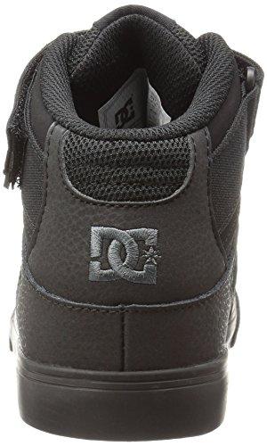 DC , Chaussures de skateboard pour garçon Black/Black/Black