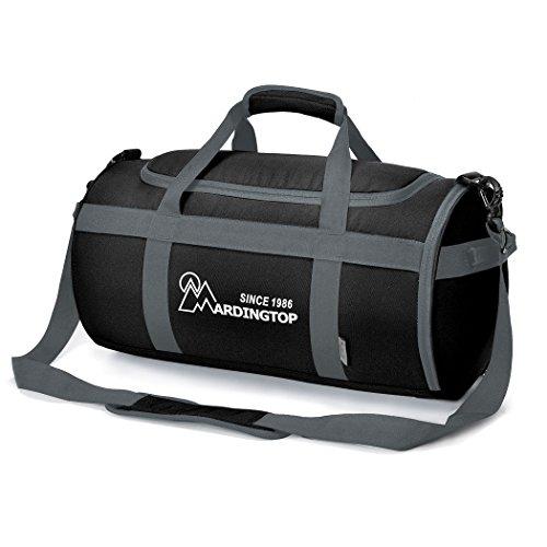 Mardingtop Sporttasche Seesack Duffel Uebernachtung Taschen fuer Reisen Sport Gym Urlaub