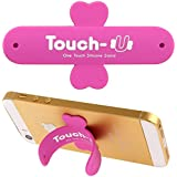 Soporte iPhone 5/5S Magenta Silicona Touch-u One Touch Universal Silicona Stand Soporte