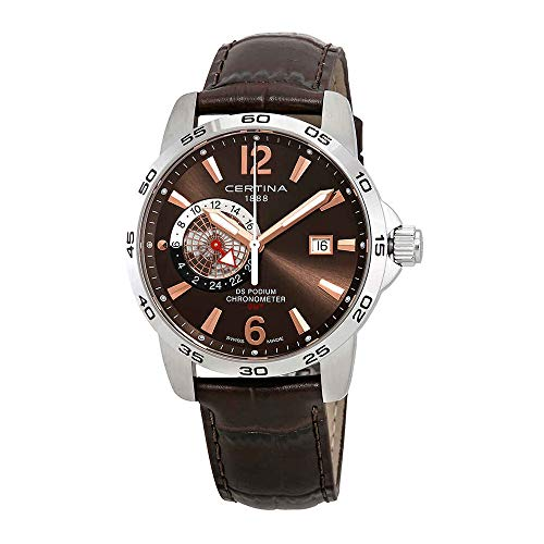 Certina DS Podium C034.455.16.087.01 - Reloj para hombre, color marrón