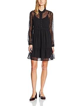 VERO MODA Damen Kleid Vmlucydob L/S Short Dress Dnm V