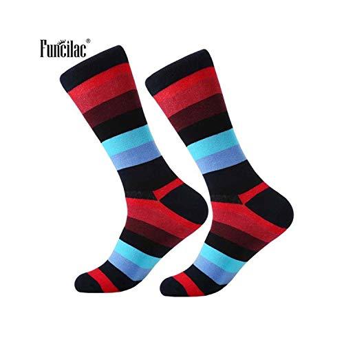 gthytjhv Crew Socken, Kleidersocken Packung, Men Socks Cotton Fashion Novelty Harajuku Socks Hiphop Skateboard Socks Casual Wedding Party Sock For Men Women 1 Pair style 1