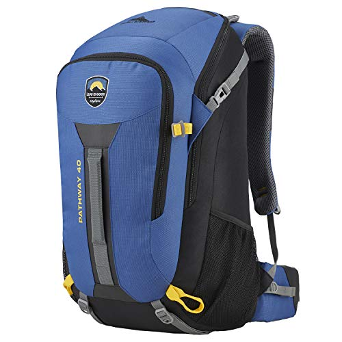 High Sierra Life is Good Pathway, 40 l Blau Vintage Blue/Black (High Sierra-computer-rucksack)