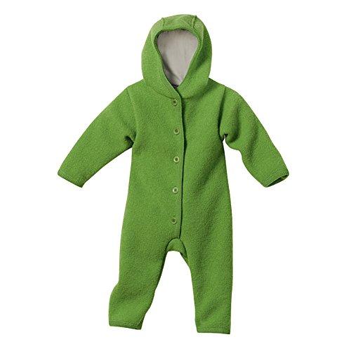 Disana Baby Walkoverall aus Bio Schurwolle kbT (86/92, grün)