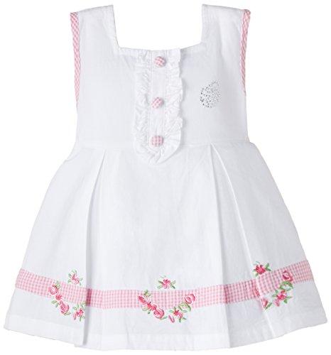 Cupcake Baby Girls' Dress (M3-9-2504_White_24 months)