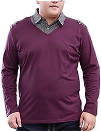 Amazon.es: tallas grandes hombre - 4XL / Camisetas de manga larga / Camisetas, polos y cami...: Ropa