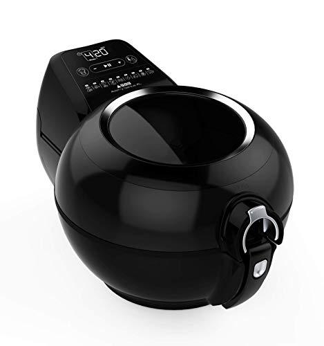 SEB SEB3045380013759 Friteuse sans Huile Cuve Amovible Cuisine Saine Actifry Genius XL 8 Personnes-1,7 kg-Noire AH960800