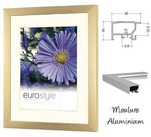 Cadre en aluminium 40x60 couleur cuivre - pour exposition
