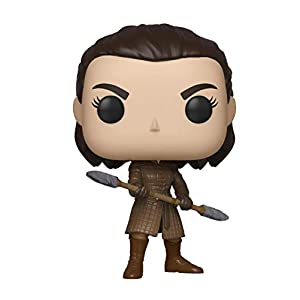 Funko - Pop! TV: Game of Thrones - Arya w/Two Headed Spear Figura Coleccionable, Multicolor (44819) 1