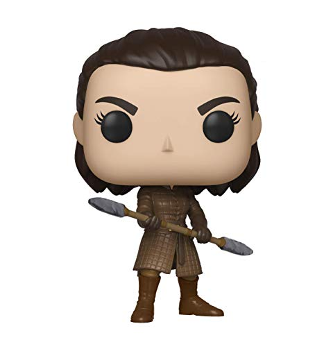 Funko Pop TV: Game of Thrones-Arya w/Two Headed Spear Figura Coleccionable, Multicolor (44819)