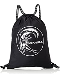 O 'Neill BM Gym Saco bolsillos, hombre, Bm gym sack, Black Out, 34 x 46 x 1 cm