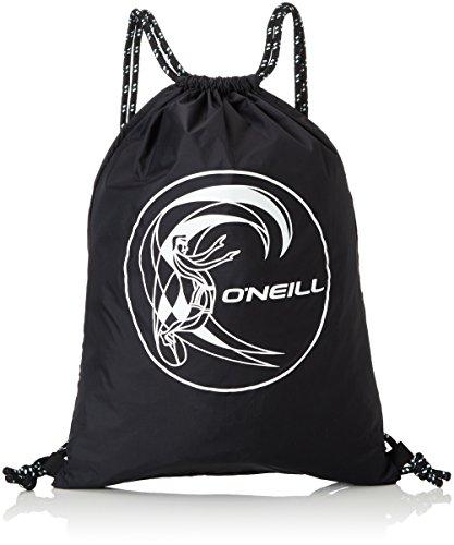 O'Neill Herren Bm Gym Sack Taschen, Black Out, 34 x 46 x 1 cm (Gym Sack Tasche)