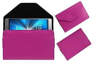 Acm Premium Pouch Case For Celkon Diamond 4g Plus Flip Flap Cover Holder Pink
