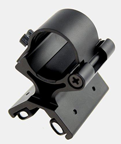 Universal Magnethalter für Lampen LED - Hochwertige Metallausführung mit Kraft-Magnet für Profis.Für Lampen für/bis max. Durchmesser 28mm Griffstück!