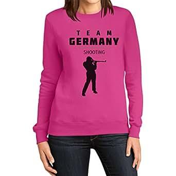 Deutschland Schieß Team – Schießen Fan Motiv Rio Frauen Sweatshirt