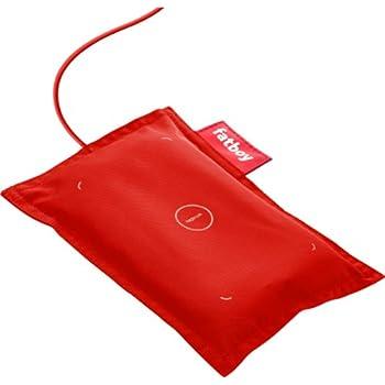 Nokia - Coussin Fatboy - Chargeur sans fil - Rouge