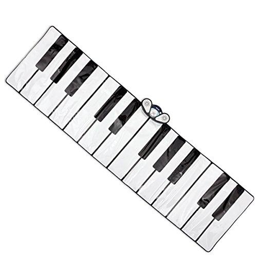 Piano Mat tappetino musicale e tattile con 9 strumenti e 10 melodie - Mat Piano