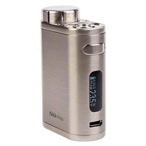 Riccardo iStick Pico MOD 75 Watt, Eleaf e-Zigarette / MOD, silber gebürstet