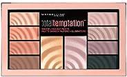 Maybelline New York Total Temptation Eye Shadow Palette, 12 gm