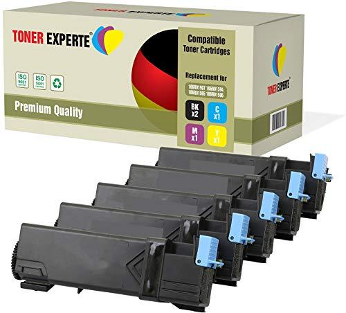 TONER EXPERTE® 5 Premium Toner kompatibel zu 106R01597 106R01594 106R01595 106R01596 für Xerox Phaser 6500, 6500DN, 6500N, 6500VDN, WorkCentre 6505, 6505DN, 6505N