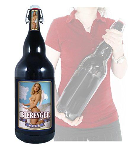 Bier Engel - 3 Liter XXL-Flasche Bier mit Bügelverschluss