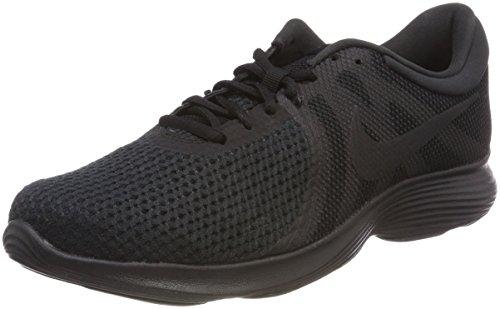Nike Wmns Revolution 4 EU, Zapatillas de Trail Running para Mujer, Negro (Black/Black 002), 36.5 EU