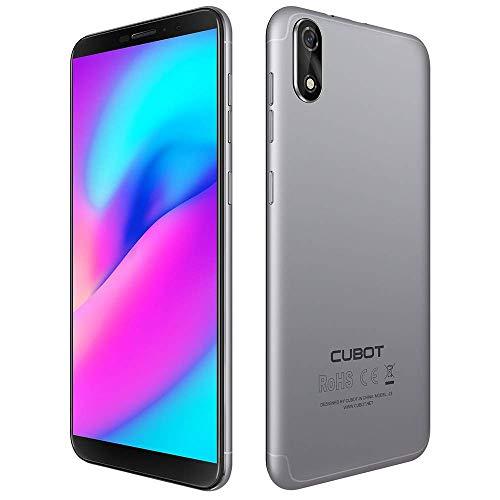 Unlocked Cellphone, Cubot J3 Smartphone 3G 5.0 Pulgadas 18: 9 Pantalla Android GO MT6580 Quad Core 1.3GHz 1GB RAM 16GB...