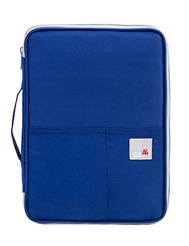 iSuperb - Cartera para pasaporte  Azul azul