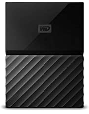 Western Digital BS4B0020BBK-WESN My Passport 2TB Portable External Hard Drive (Black)
