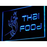 Enseigne Lumineuse i977-b Thai Food Thailand Restaurant Cafe NR Light Sign