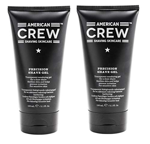 2er American Crew Precision Shave Gel 150 ml (Crew Precision Shave Gel)