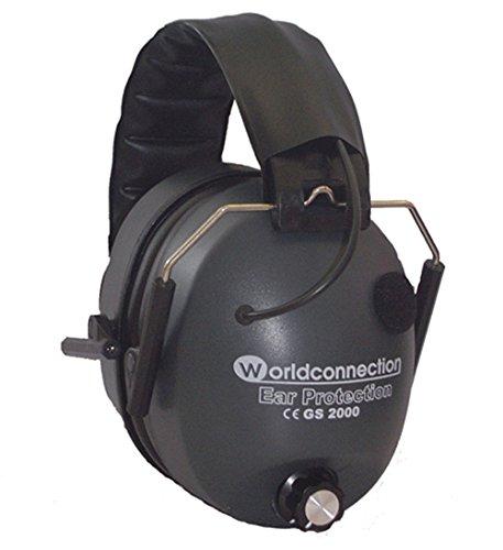 Worldconnection gs2000 - cuffie antirumore elettroniche con amplificatore sonoro