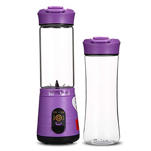 Entsafter tragbarer elektrischer Hochleistungs-Entsafter-Becher USB-Akku-Entsafter purple