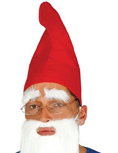 Guirca Fiestas GUI13961 - Roter Zwerg- Hut (Erwachsene Hut Roten)